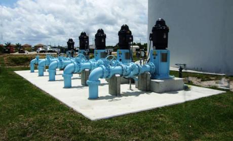 Ground Storage Tank and High Service Pump Station