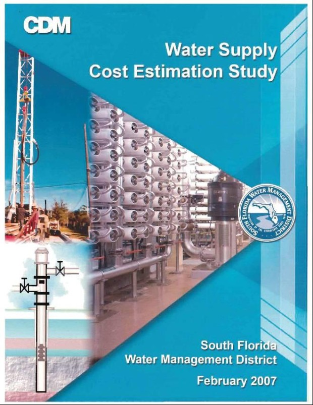 SFWMD Cost Estimating Study Phase I and II
