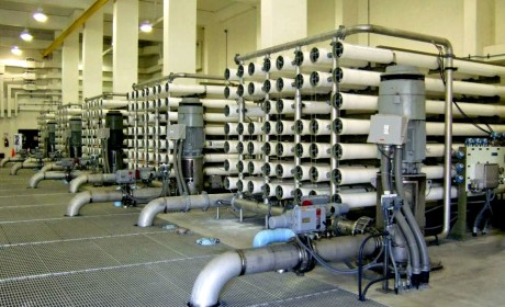10.0 mgd Membrane Pressure Vessel Replacement