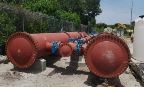 Broward County Water and Wastewater Services WTP 3A Four Log System Services During Construction